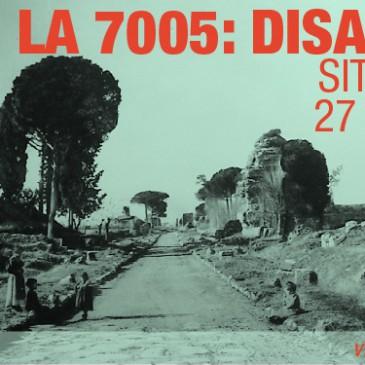LA 7005: MONDAY, 27 MAY