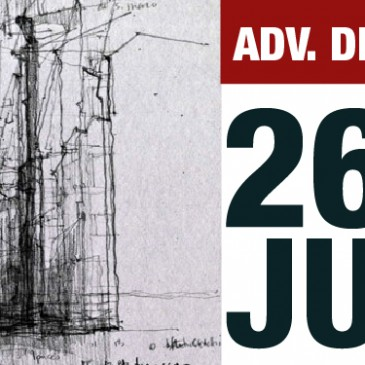 WEDNESDAY, 26 JUNE: ADV DRAWING