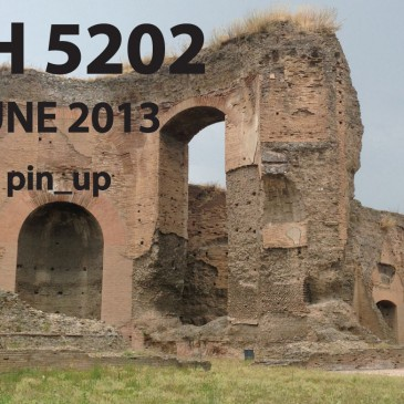 10/12 JUNE 2013: ARCH 5202