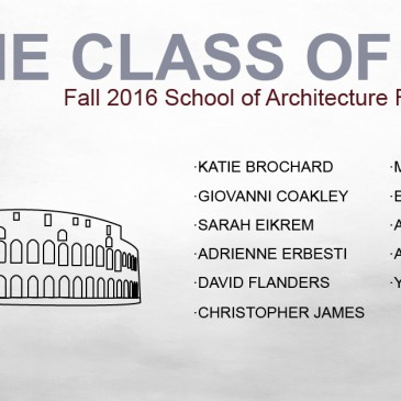 Rome Class of 2016