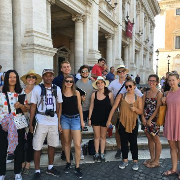 Weekend Trip–The Rome Forum & Colosseum [September 4,2016]