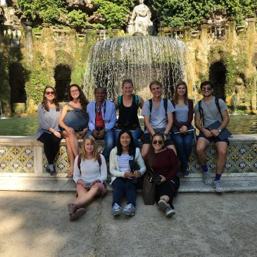 Weekend Trip –Villa d'Este inTivoli & Villa Adriana [September 30,2016]