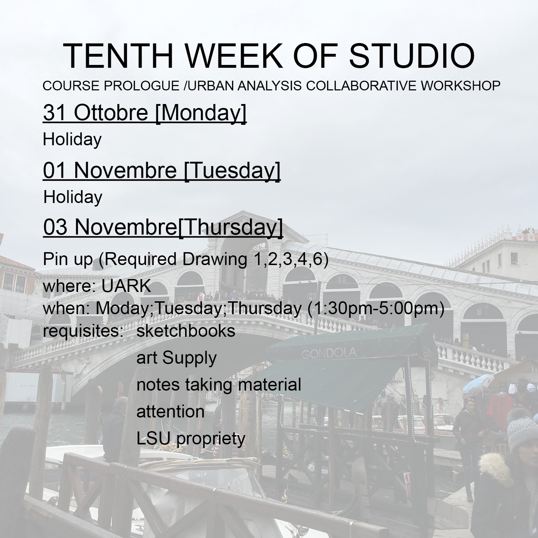 2016_Tenth week studio